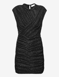 TOZCAN - fodralklänningar - black/silver