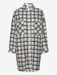 BASBRY - overshirts - mixed grey