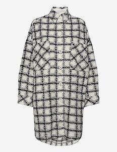 BASBRY - langærmede skjorter - used black