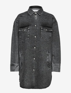 0JOUANT - päällyspaidat - dark grey/black
