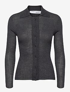 TIANAK - cardigans - dark grey