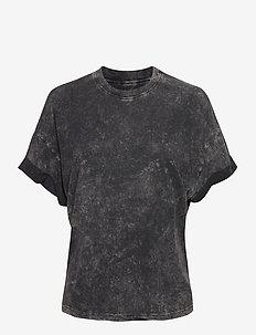 MARTYA - t-shirts - black/ecru