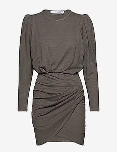 GARAH - kort kjoler - khaki