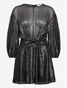 IRISA - korta klänningar - black/silver