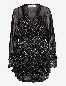 MILSON - korte kjoler - black/gold