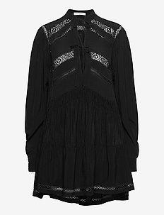 PLUTON - korte kjoler - black