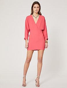 DETINA - slå-om-kjoler - hot coral