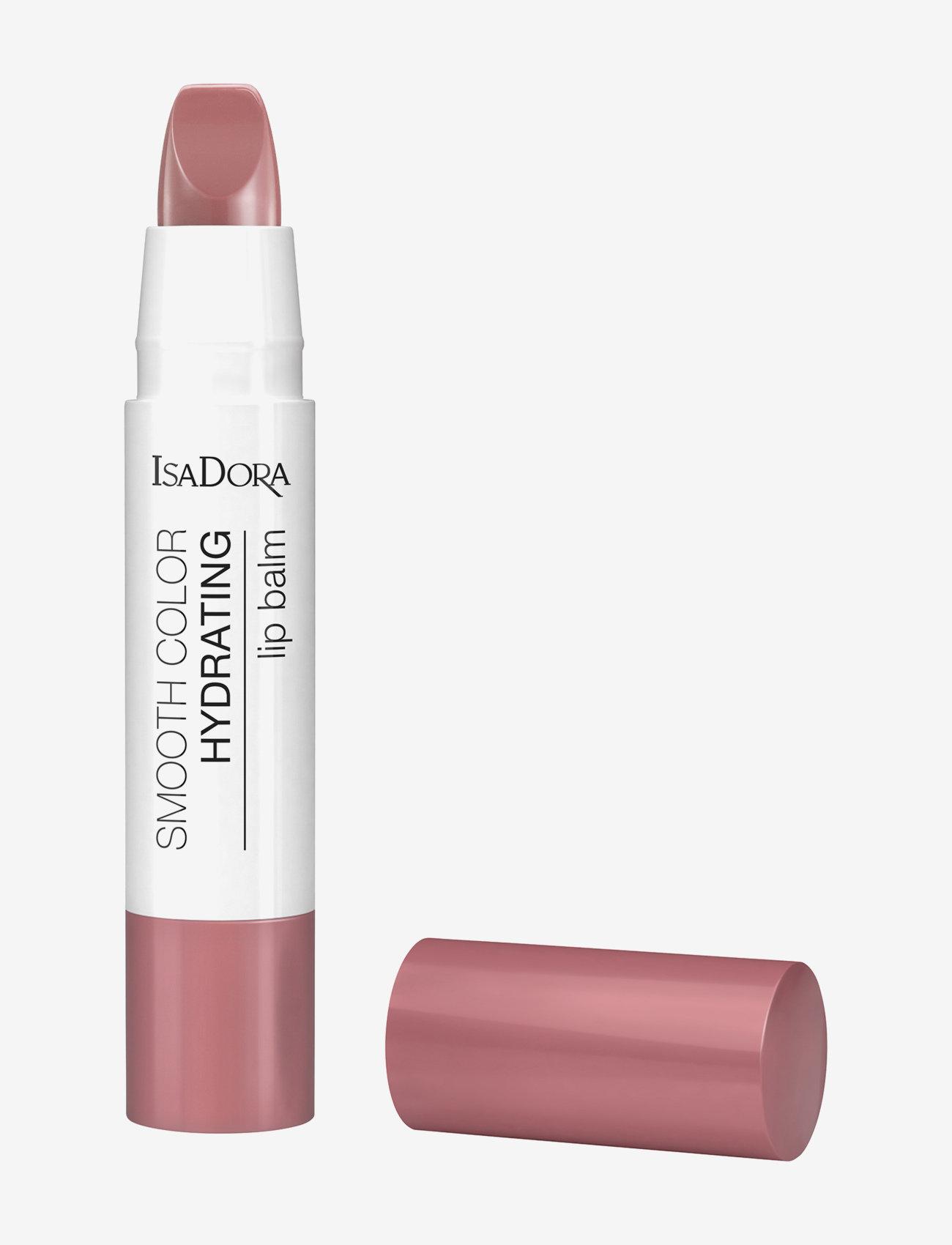 Isadora - Smooth Color Hydrating Lip Balm - läppvård - soft caramel - 0