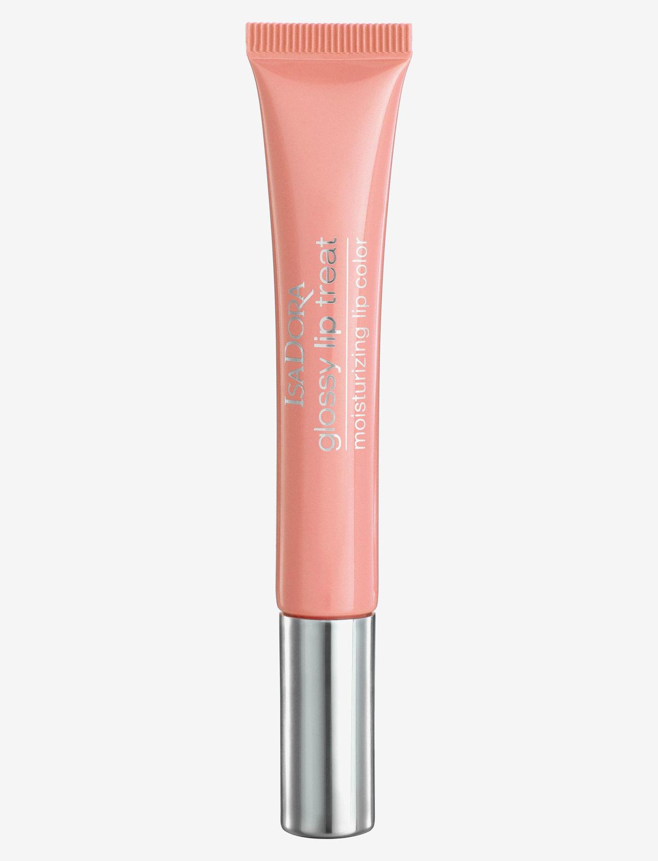 Isadora - Glossy Lip Treat Sweet Peach - läppglans - sweet peach - 0