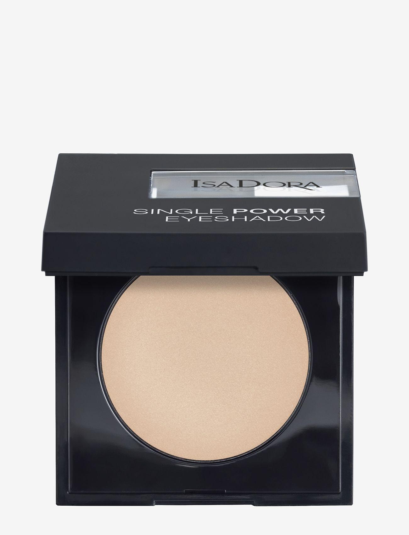 Isadora - Single Power Eyeshadow - Ögonskugga - bare beige - 0