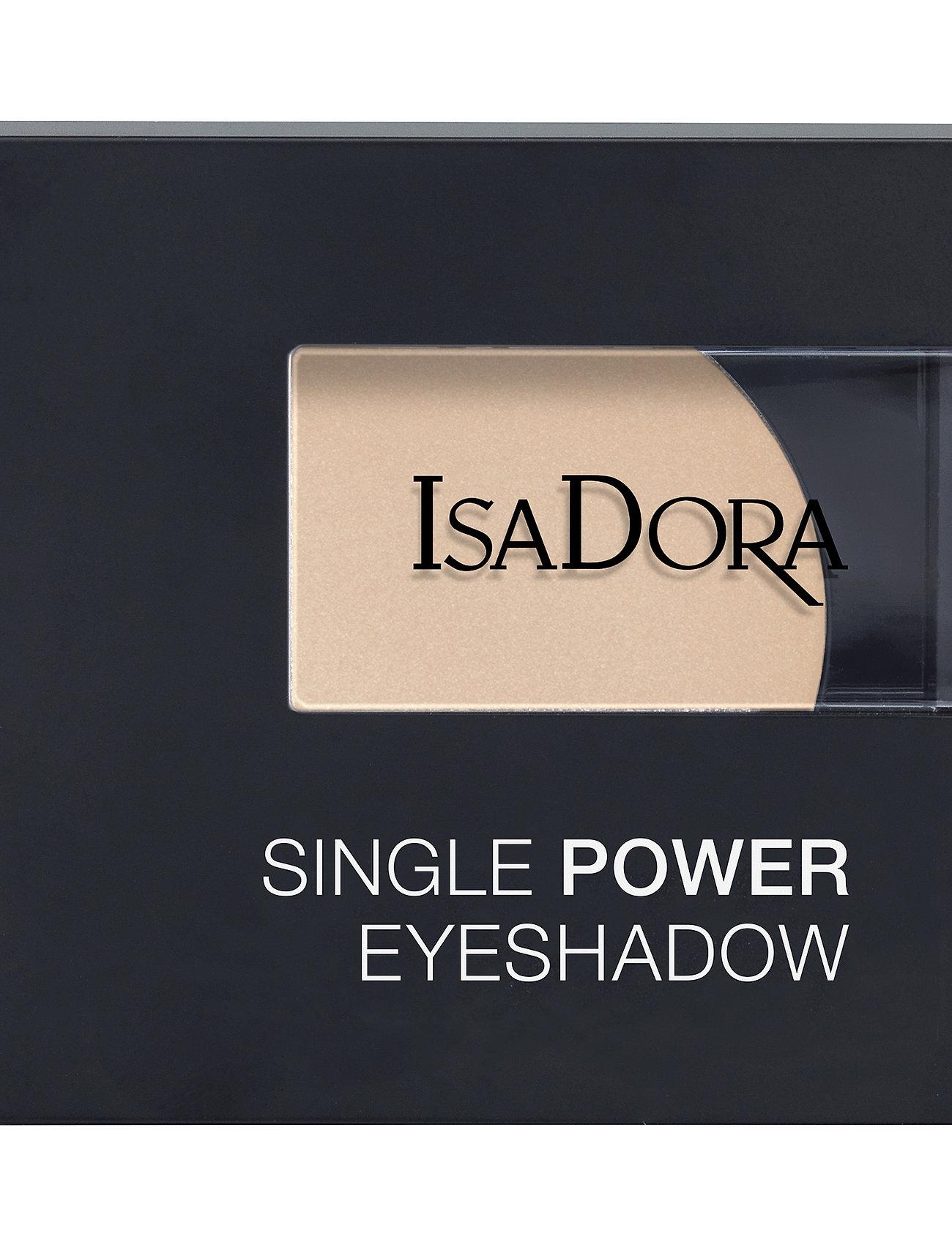 Isadora - Single Power Eyeshadow - Ögonskugga - bare beige - 1