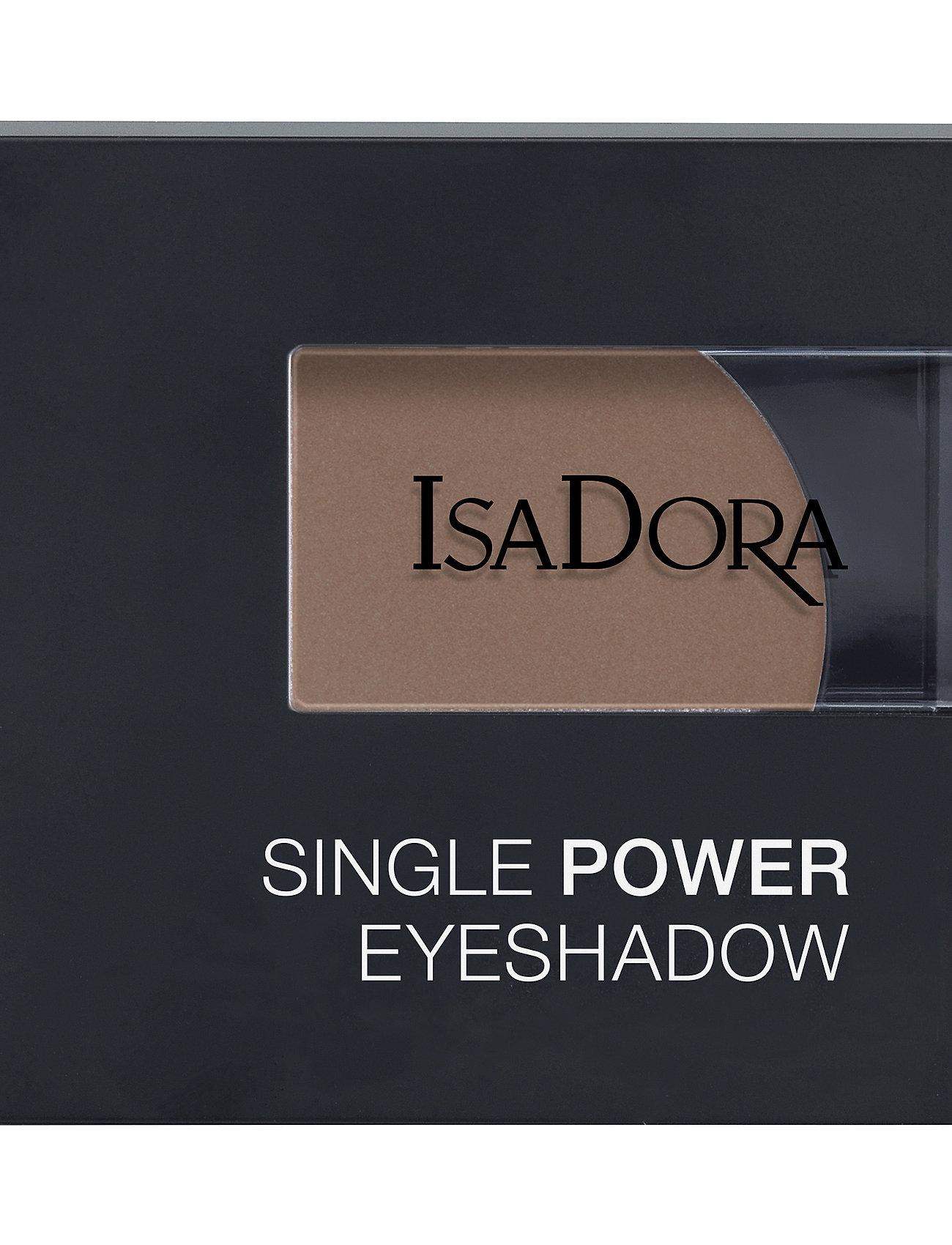 Isadora - Single Power Eyeshadow - Ögonskugga - mocha bisque - 1