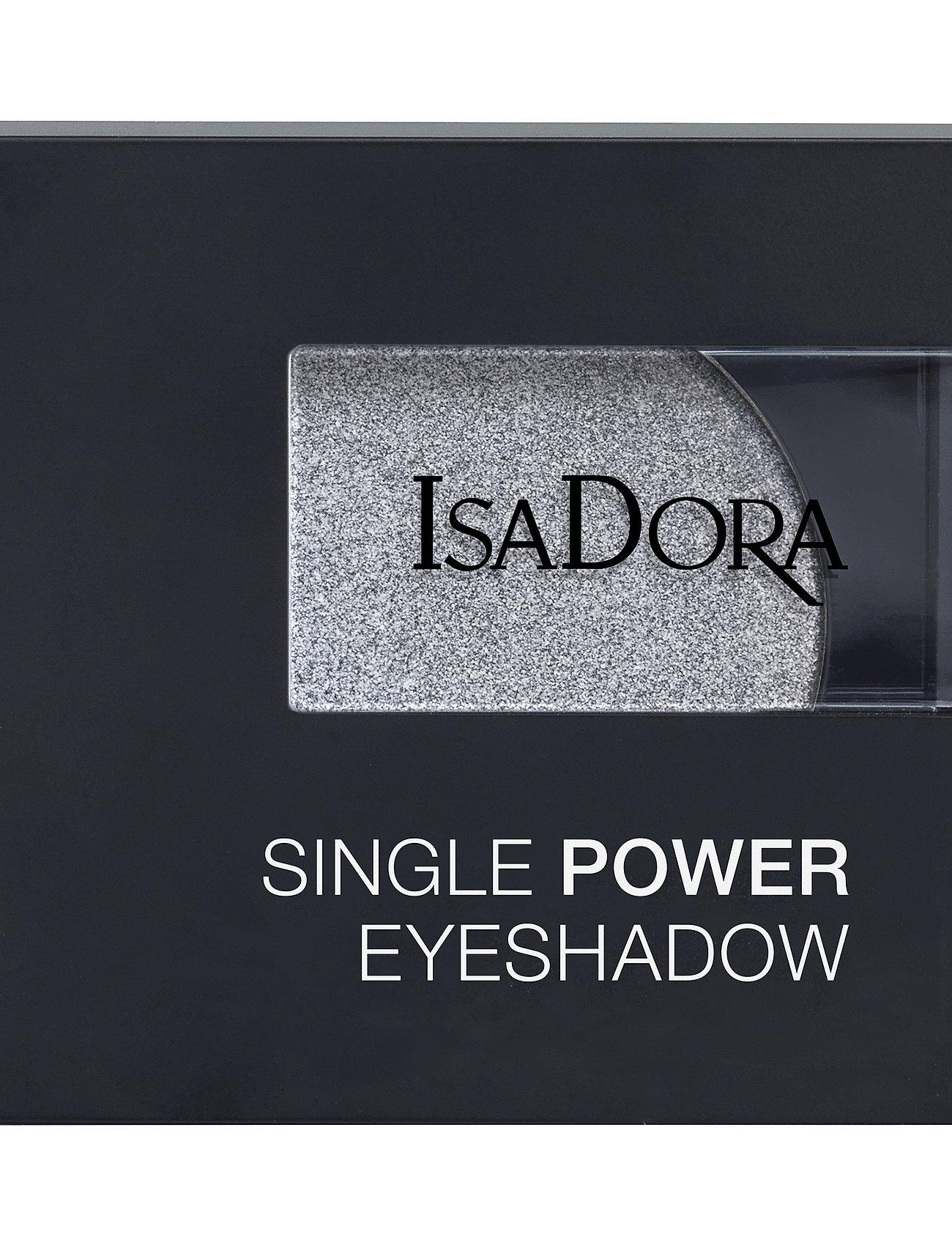 Isadora - Single Power Eyeshadow - Ögonskugga - silver chrome - 1