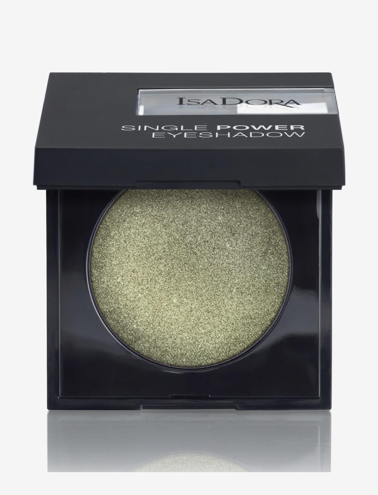 Isadora - Single Power Eyeshadow - Ögonskugga - park green - 0