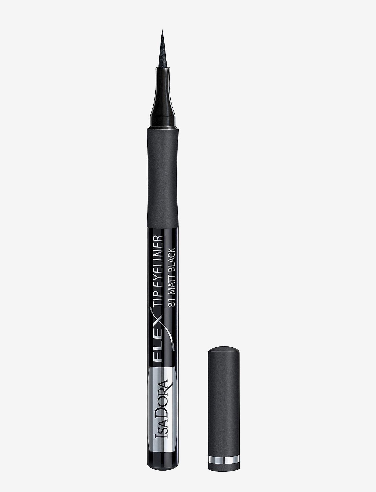 Isadora - Flex Tip Eyeliner - eyeliner - matt black - 0