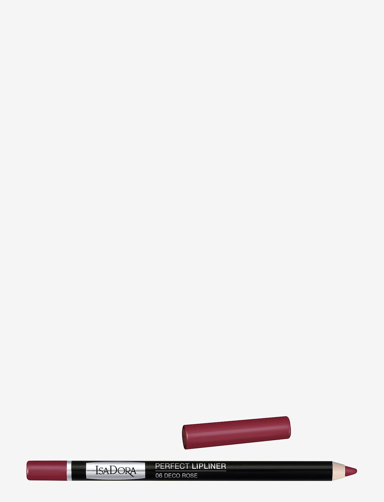 Isadora - Perfect Lipliner - läppenna - deco rose - 0