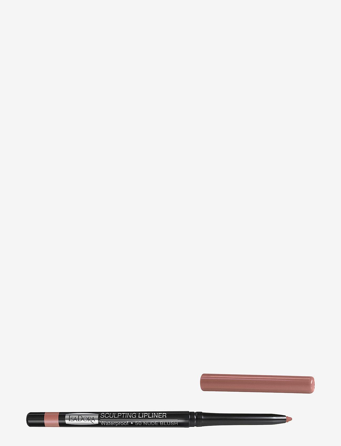 Isadora - Sculpting Lipliner Waterproof - läppenna - 051 bare pink - 0