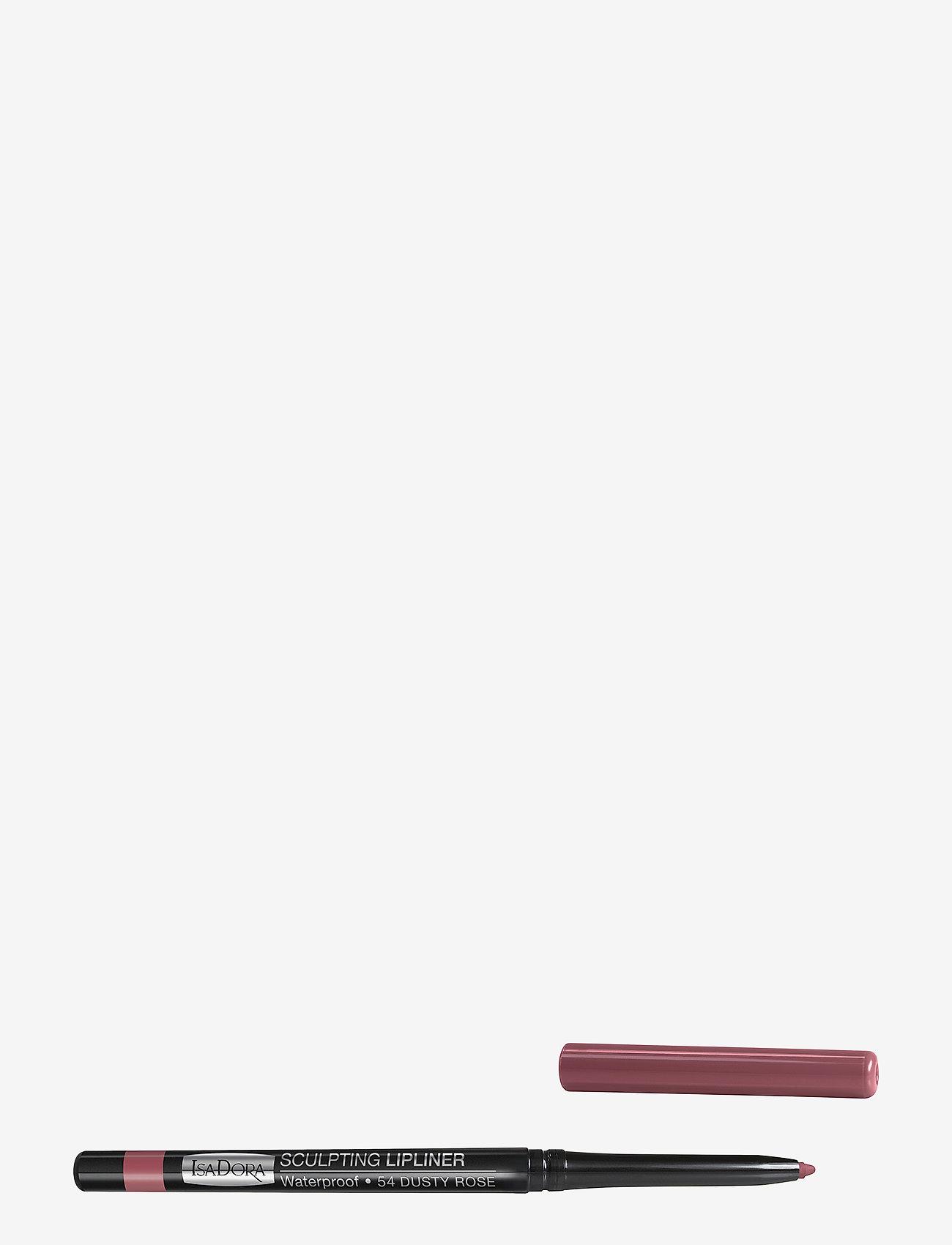 Isadora - Sculpting Lipliner Waterproof - läppenna - 54 dusty rose - 0