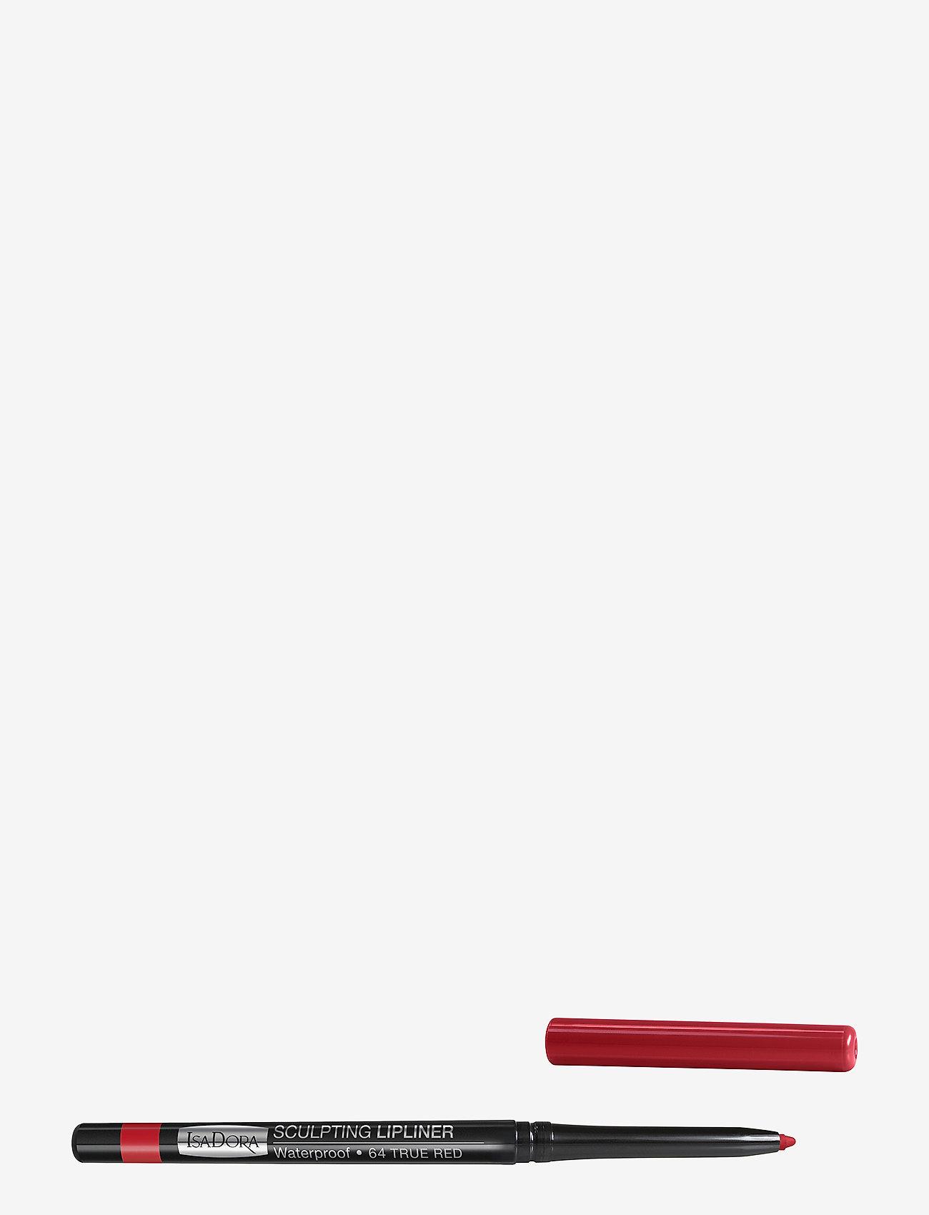 Isadora - Sculpting Lipliner Waterproof - läppenna - 64 true red - 0
