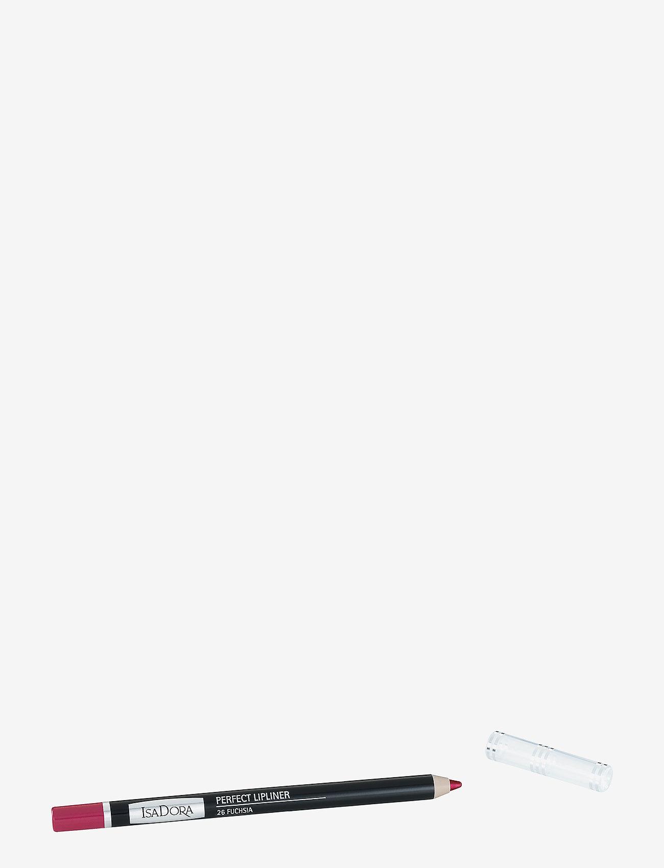 Isadora - PERFECT LIPLINER 026 FUCHSIA - läppenna - 026 fuchsia - 0