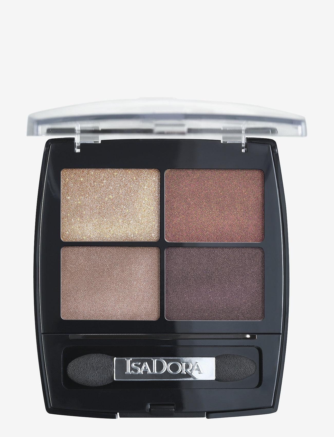 Isadora - EYE SHADOW QUARTET - Ögonskuggspalett - 18 boho browns - 0