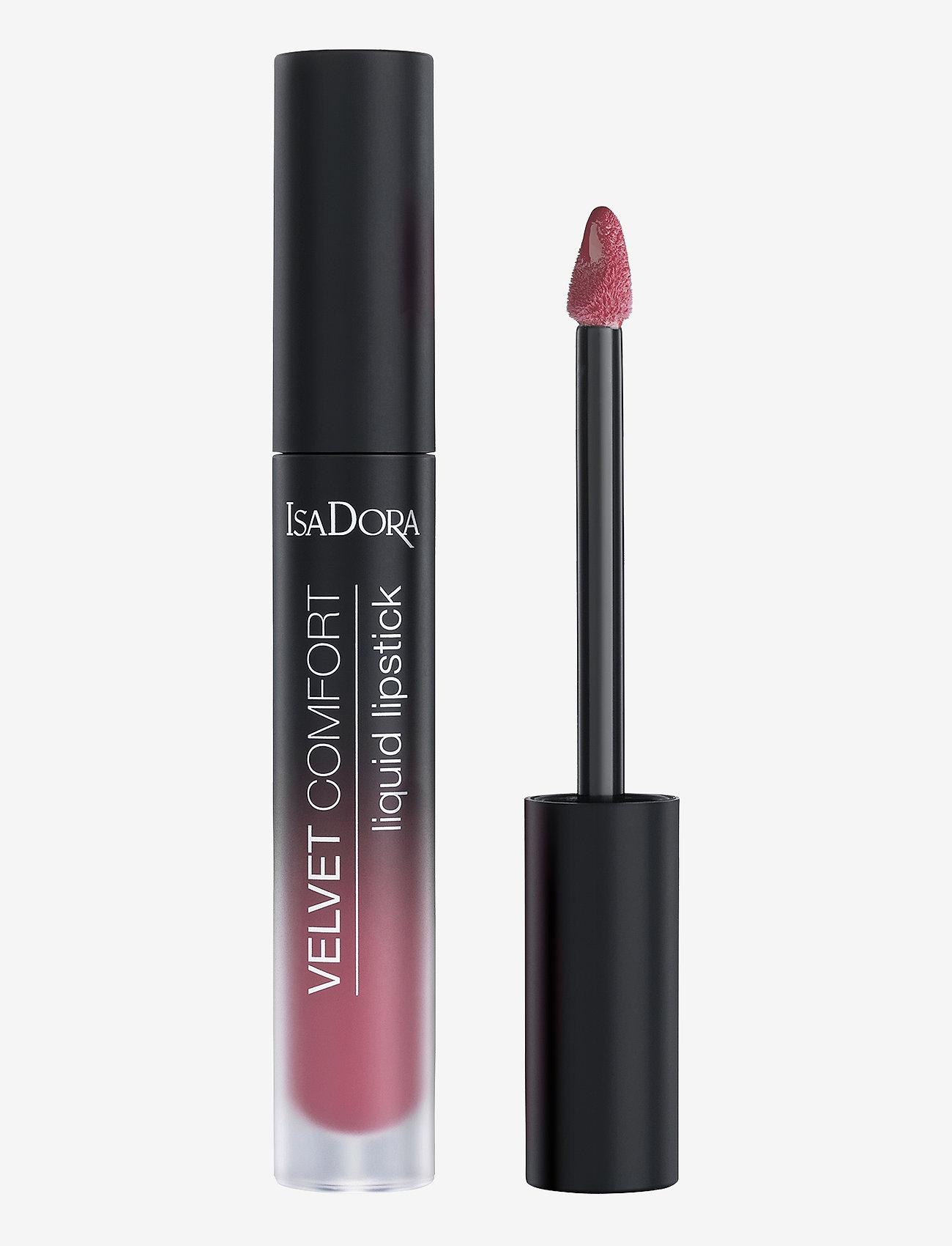 Isadora - Velvet Comfort Liquid Lipstick Mauve Pink - liquid lipstick - mauve pink - 1