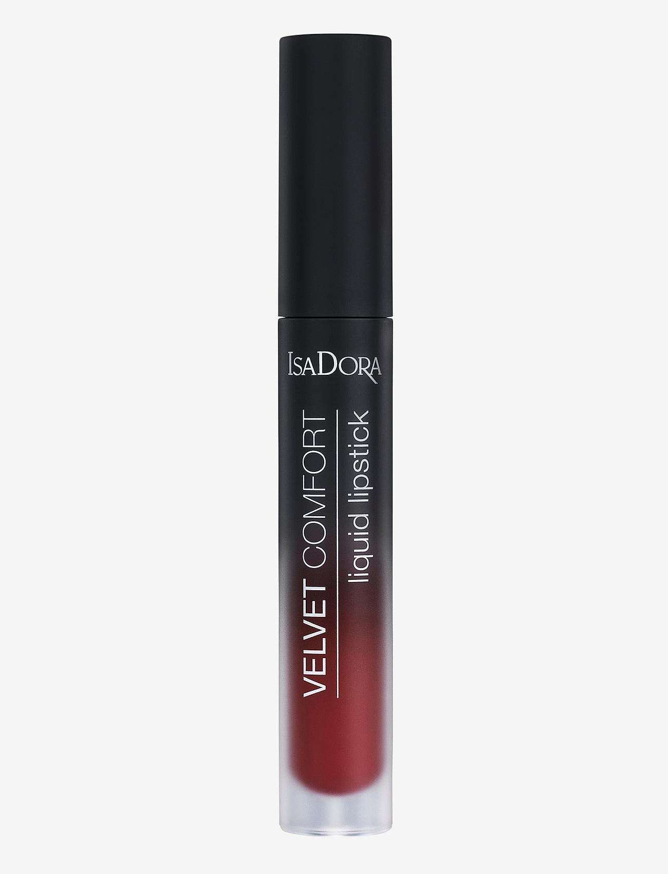 Isadora - Velvet Comfort Liquid Lipstick Cranberry Love - liquid lipstick - cranberry love - 0