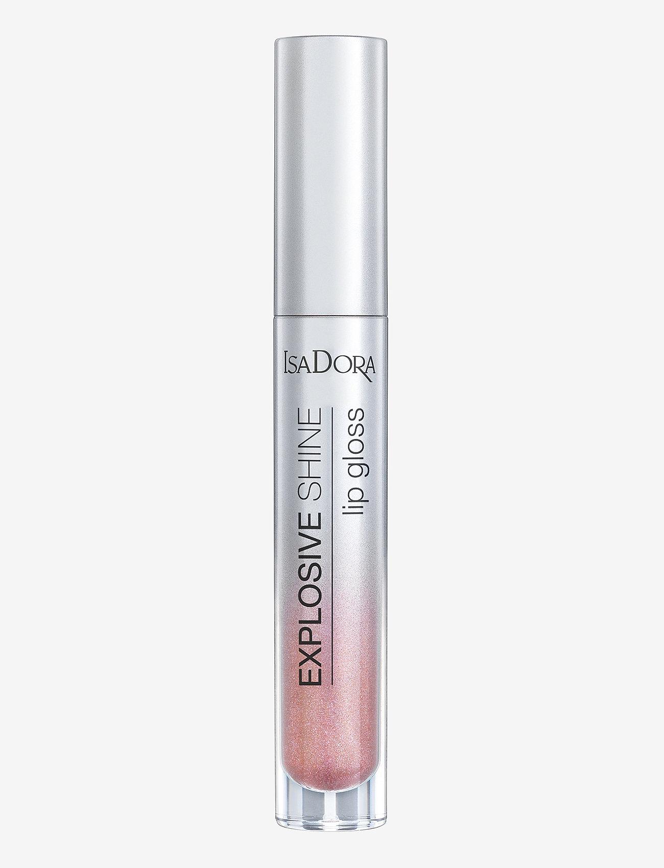 Isadora - Explosive Shine Lip Gloss - läppglans - pink sparkle - 0
