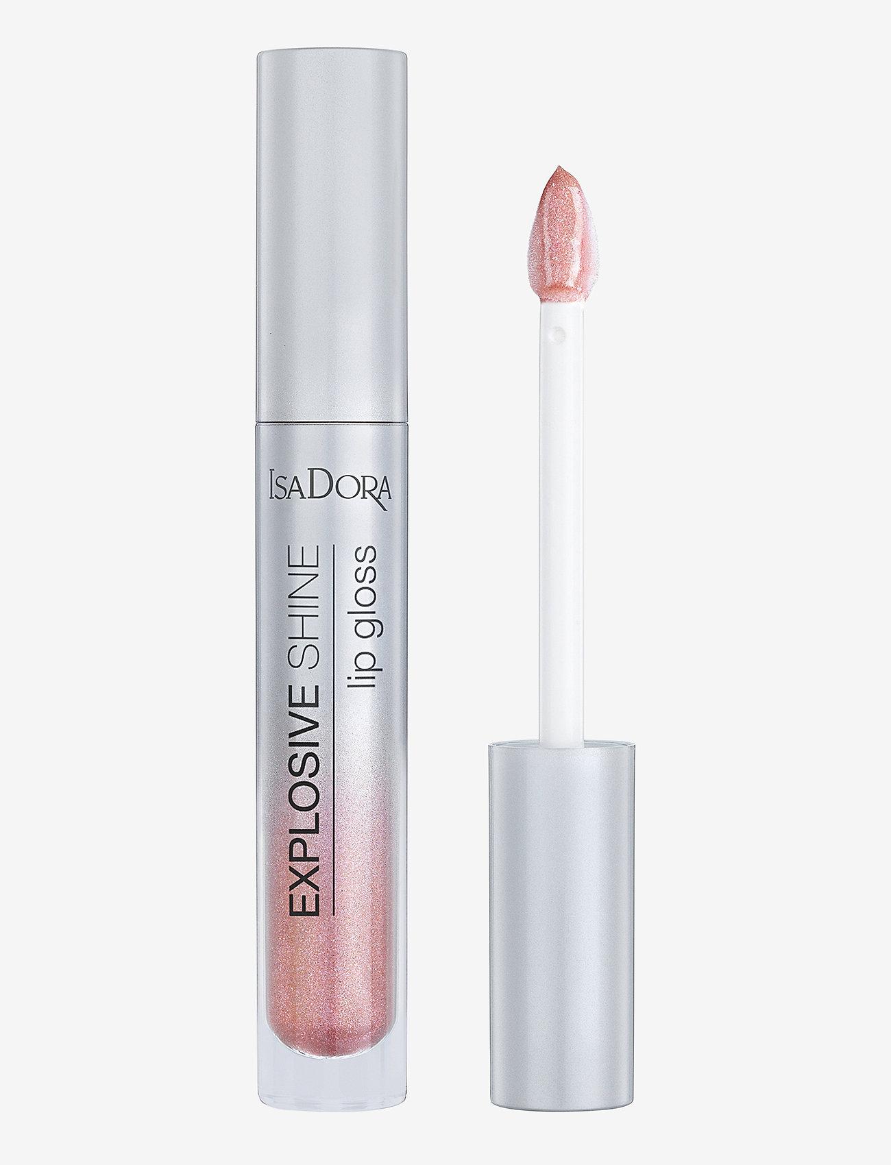 Isadora - Explosive Shine Lip Gloss - läppglans - pink sparkle - 1