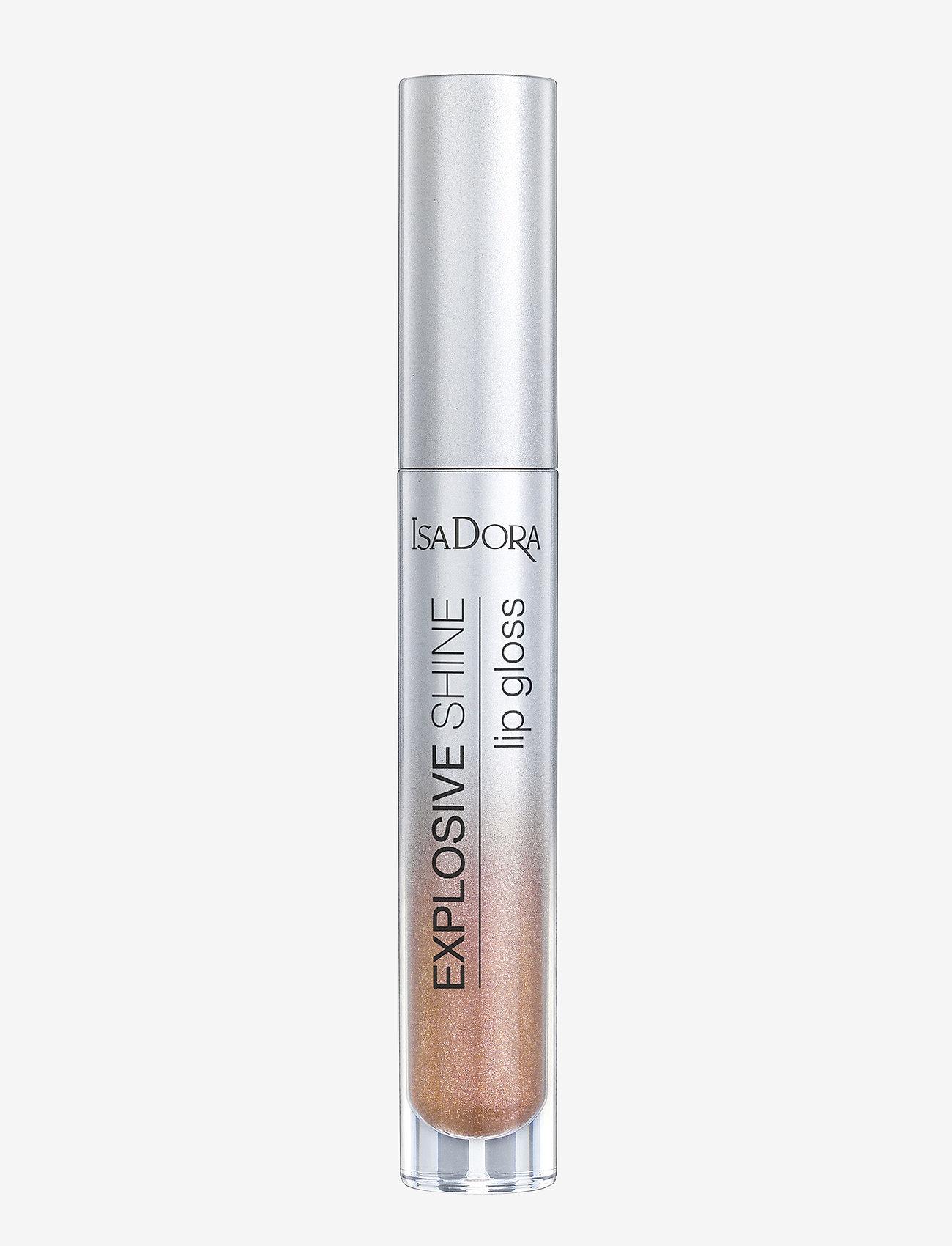 Isadora - Explosive Shine Lip Gloss - läppglans - nude sparkle - 0