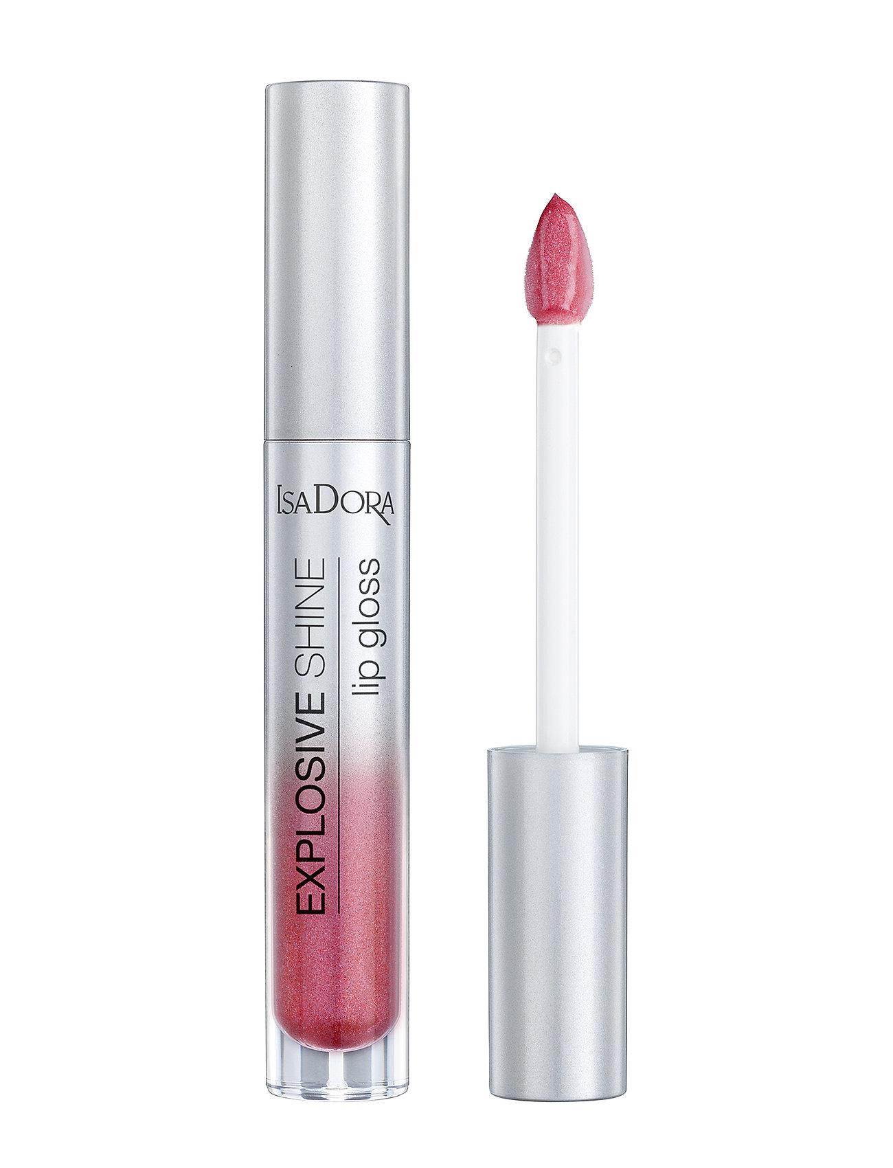 Isadora - Explosive Shine Lip Gloss - läppglans - frozen raspberry - 1