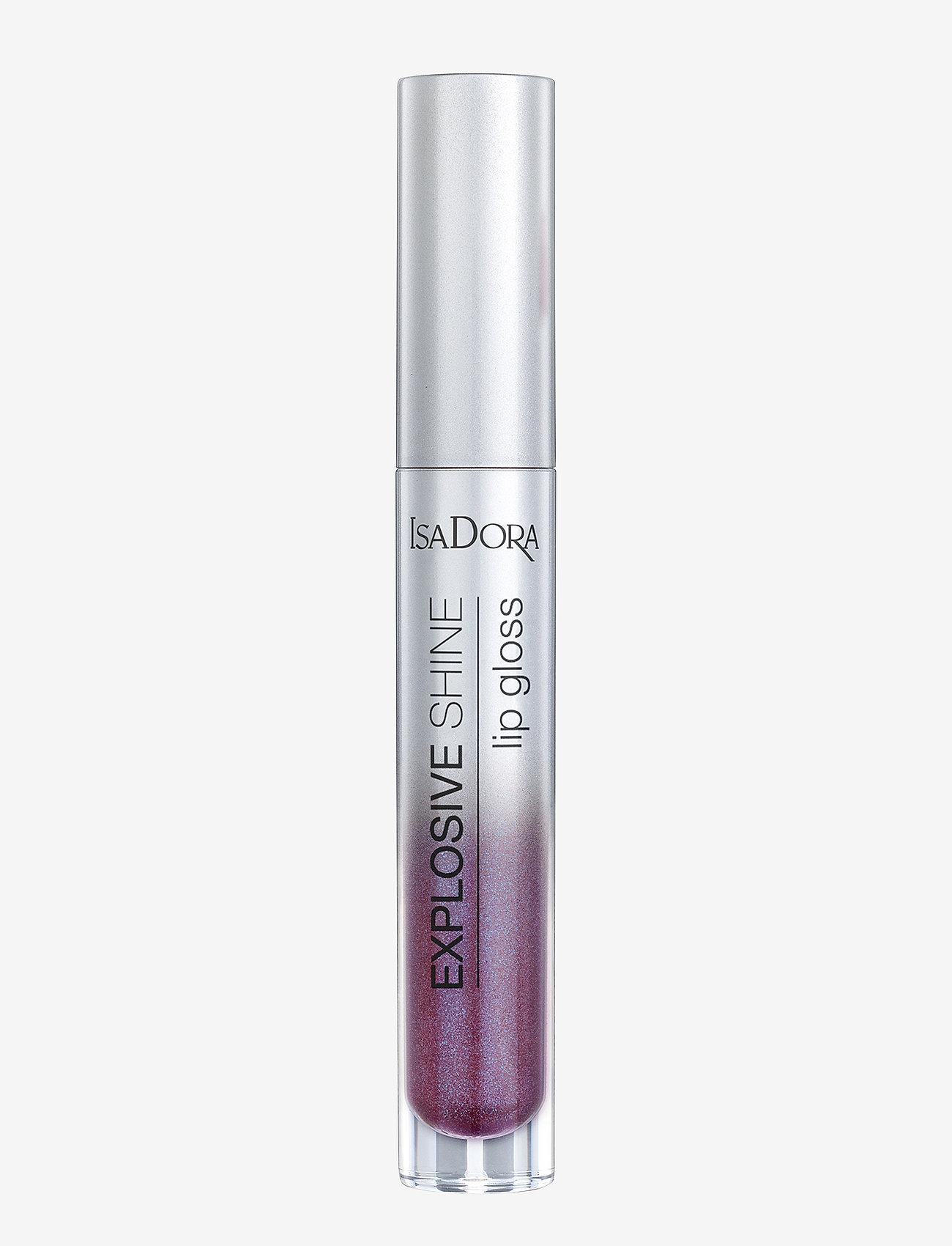 Isadora - Explosive Shine Lip Gloss - läppglans - amethyst glow - 0