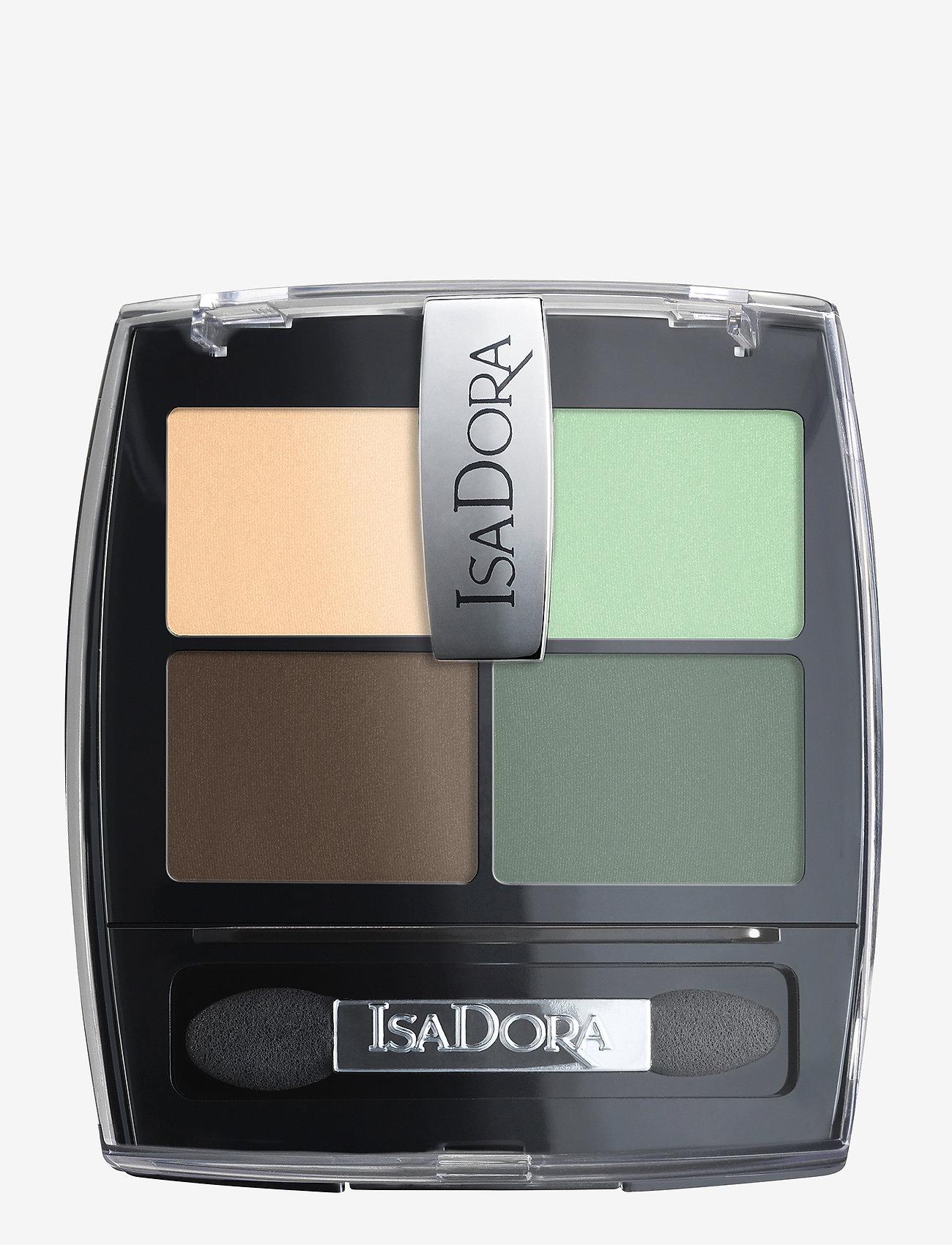 Isadora - Eye Shadow Quartet Neo Mint - Øjenskyggepalet - neo mint - 1