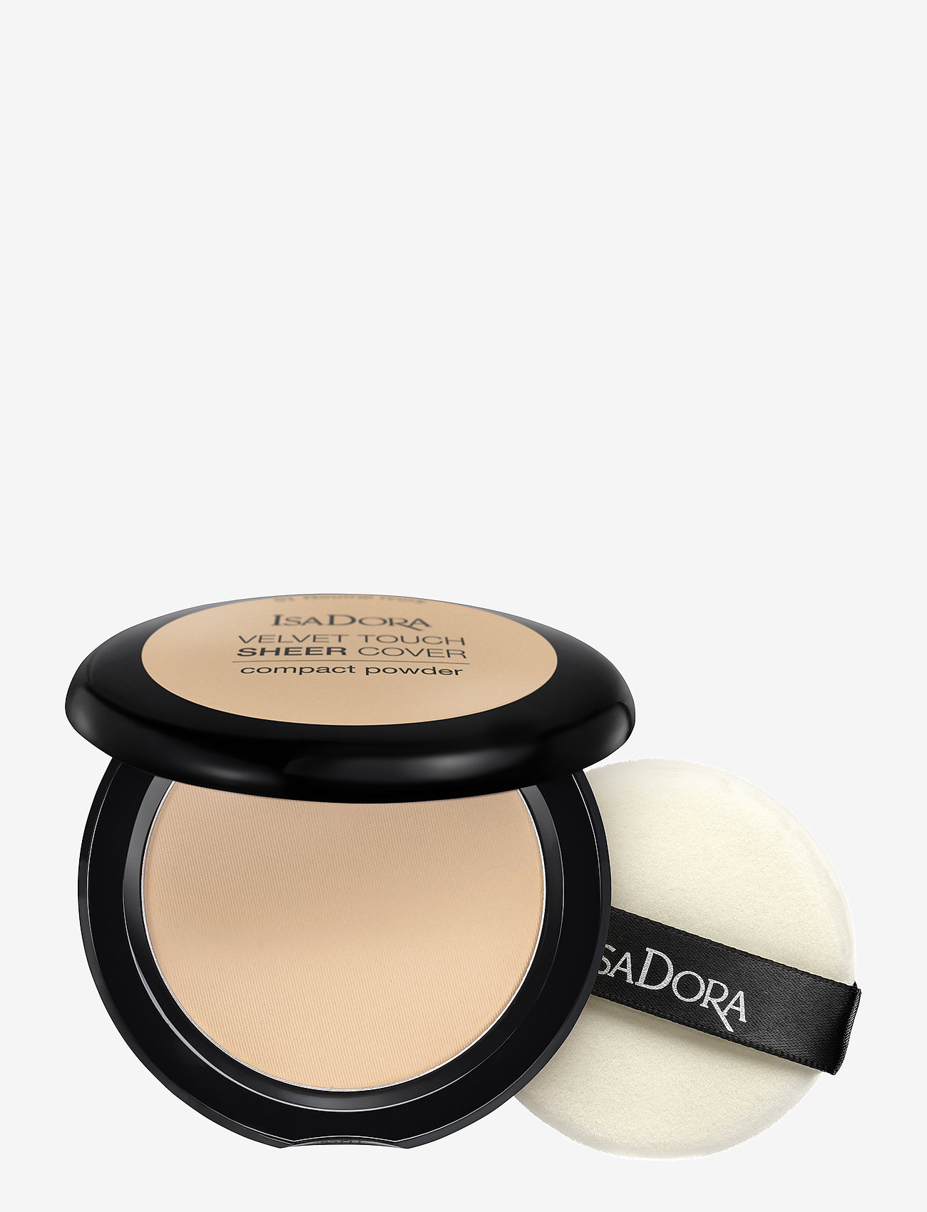 Isadora - Velvet Touch Sheer Cover Compact Powder Neutral Ivory - puder - neutral ivory - 0