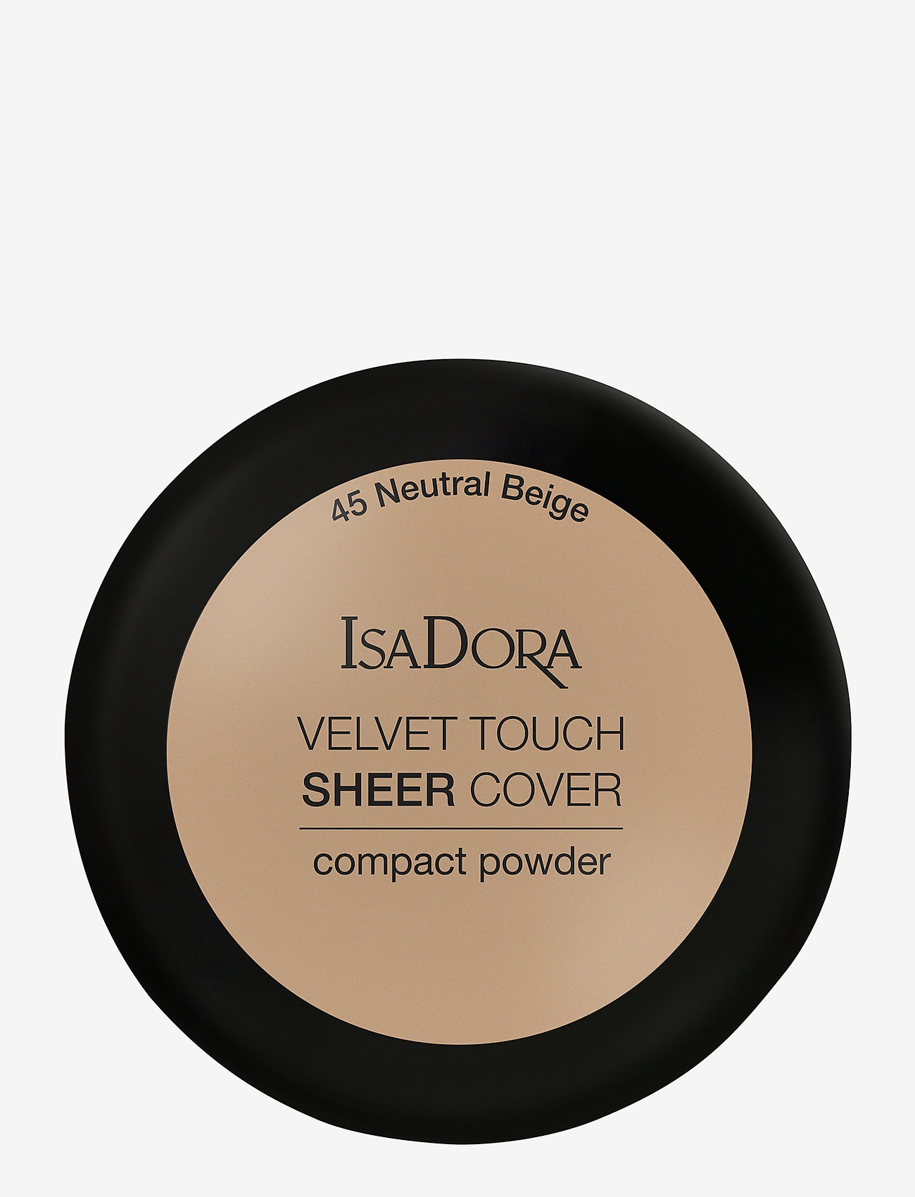 Isadora - Velvet Touch Sheer Cover Compact Powder - puder - neutral beige - 1