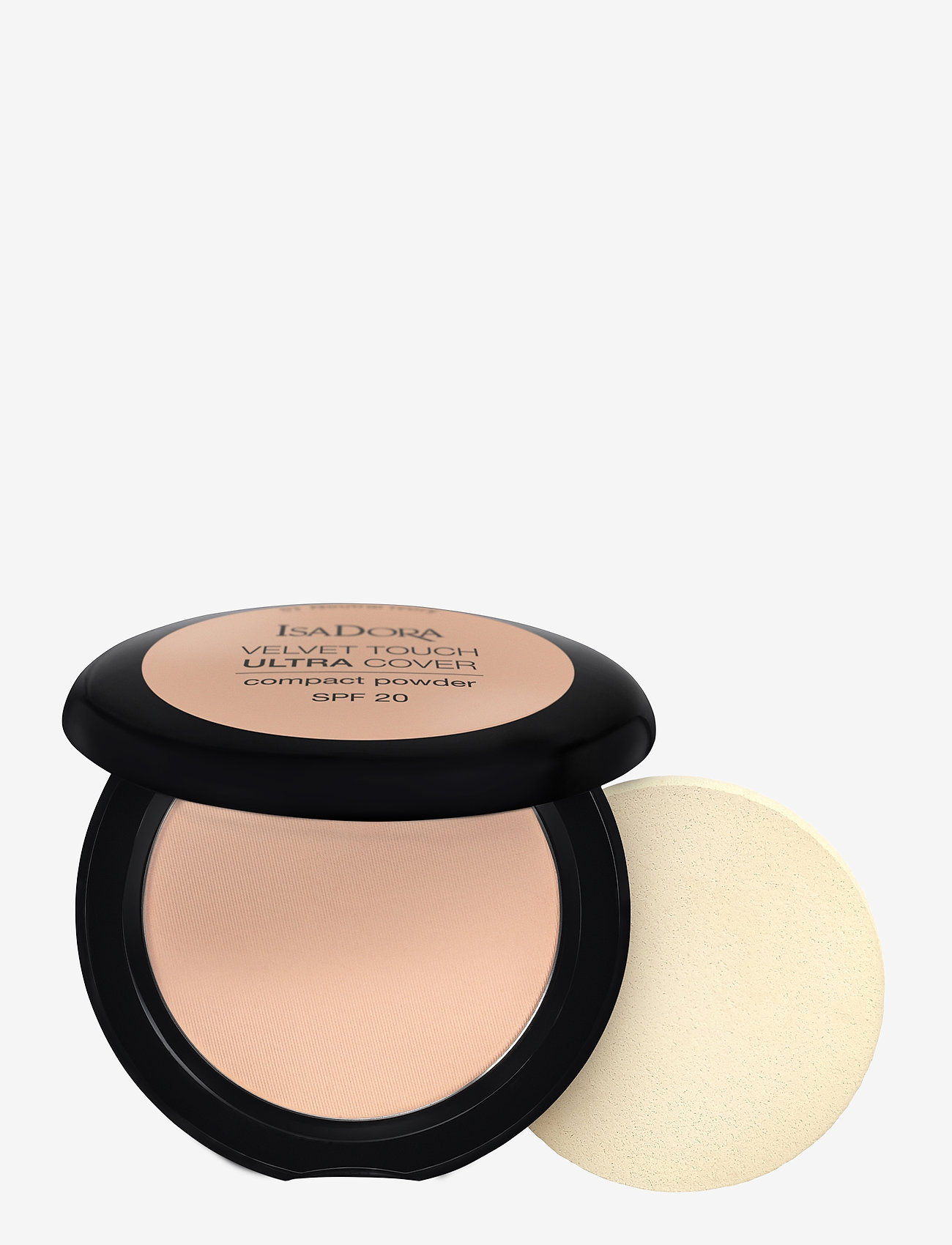 Isadora - VELVET TOUCH ULTRA COVER COMPACT POWDER SPF 20 - puder - cool sand - 0