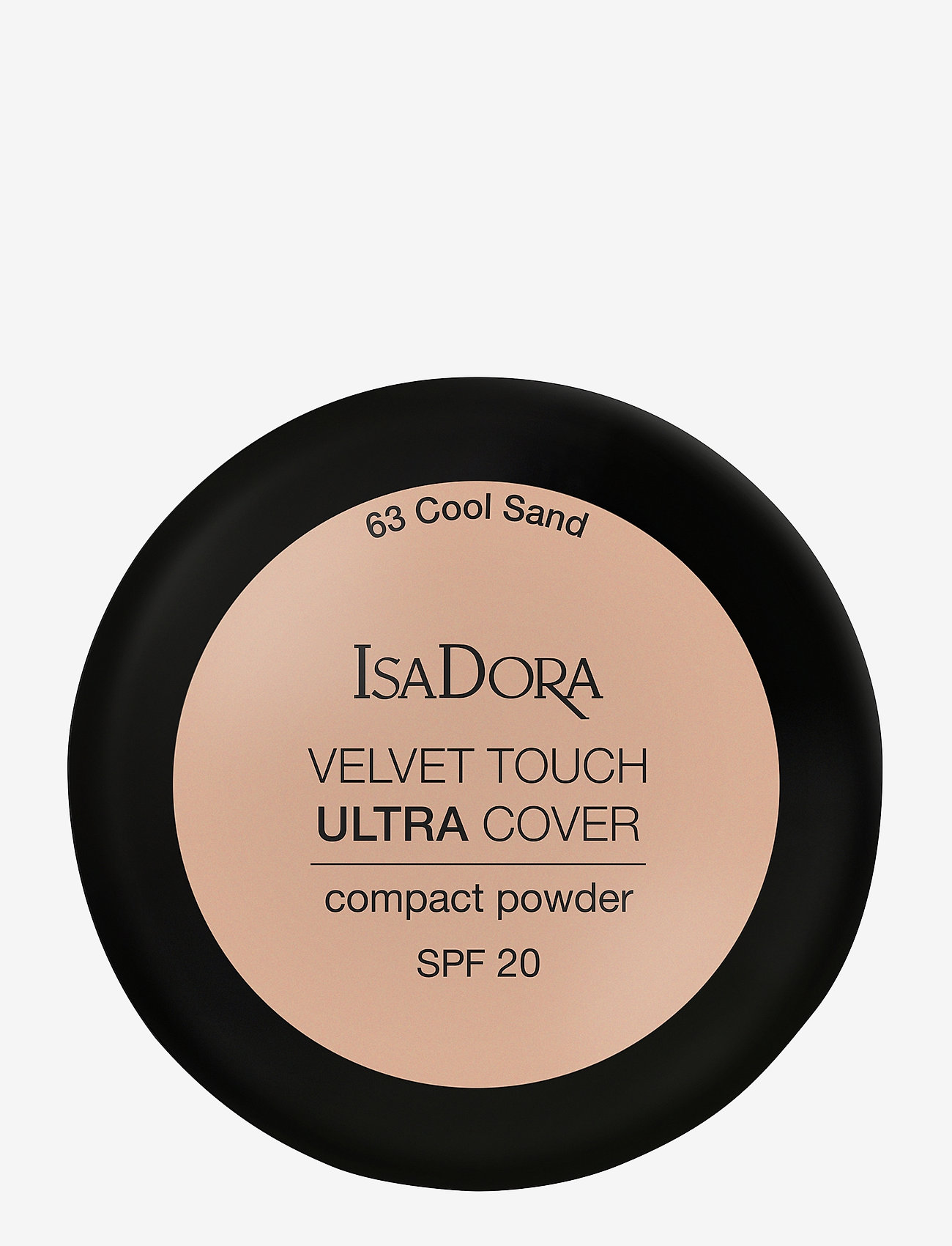 Isadora - VELVET TOUCH ULTRA COVER COMPACT POWDER SPF 20 - puder - cool sand - 1