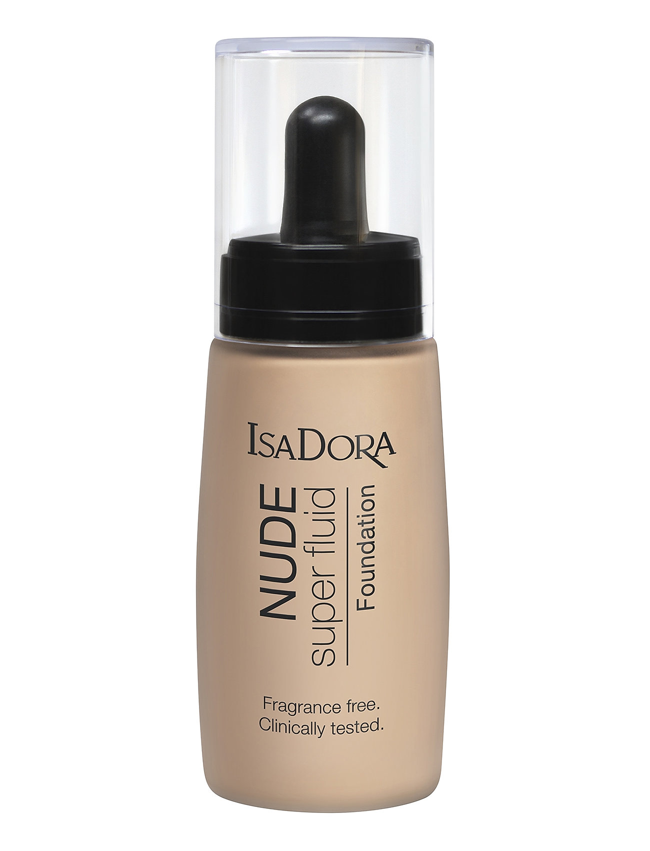 Image of Nude Super Fluid Fundation Nude Beige Foundation Makeup Isadora (3436044053)