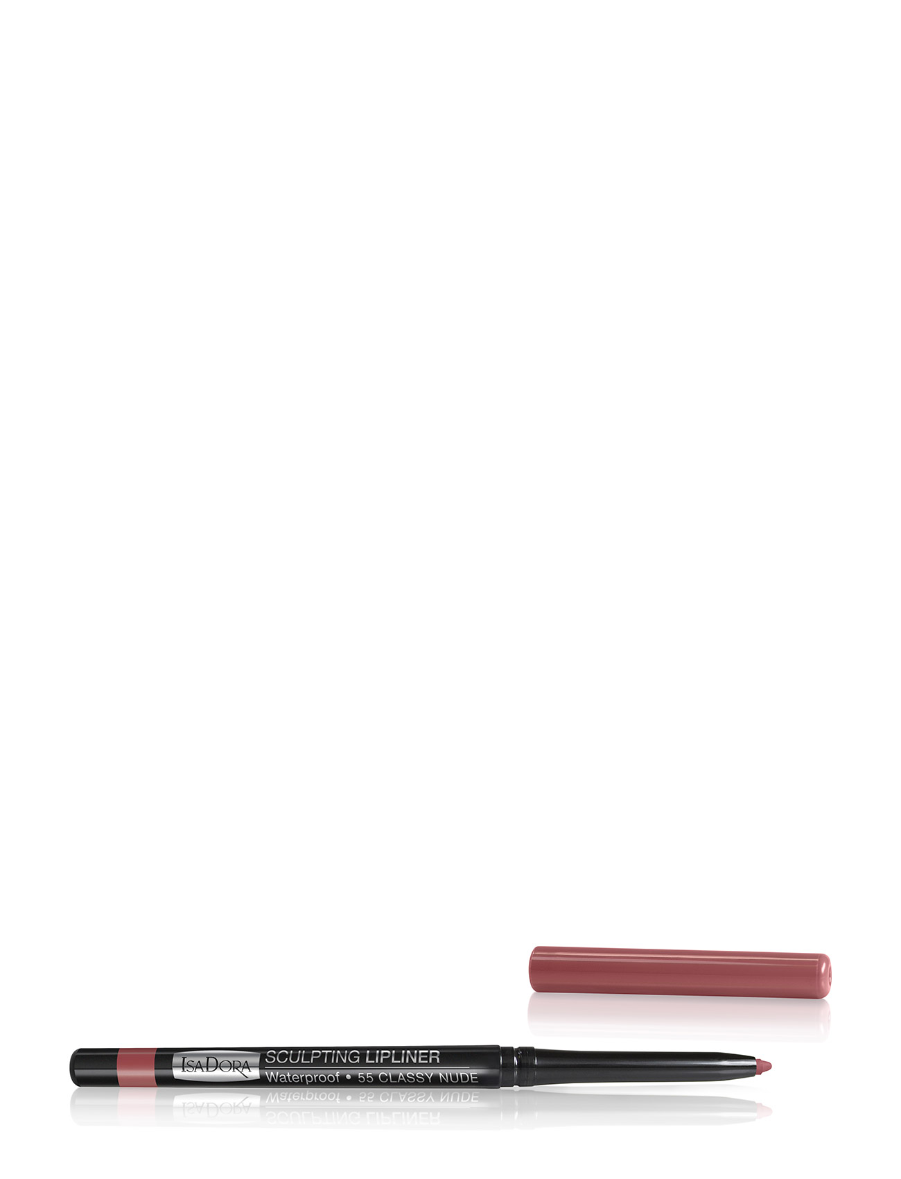 Isadora - Sculpting Lipliner Waterproof - läppenna - 0255 classy nude - 1