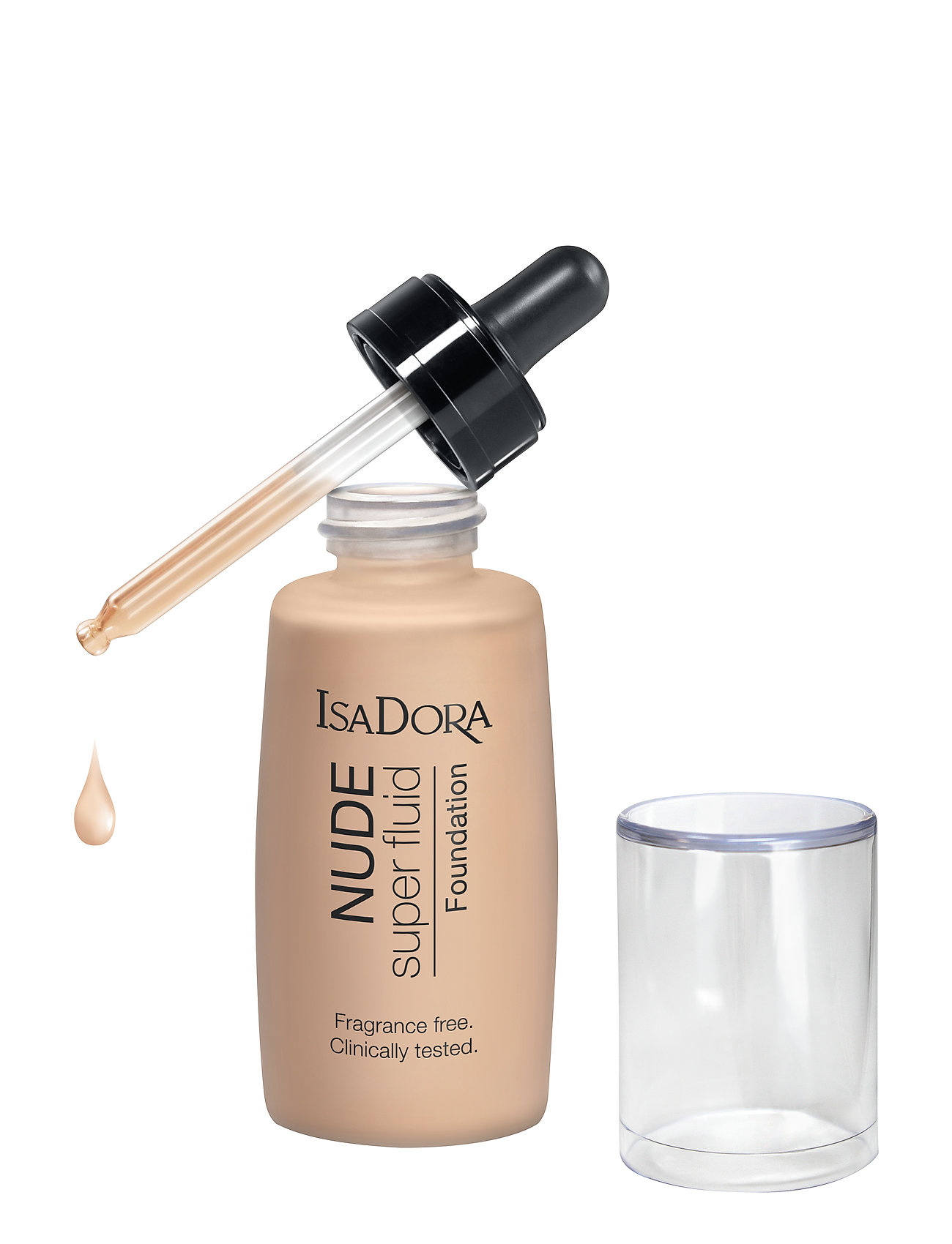 Image of Nude Fluid Foundation 10 Nude Porcelain Foundation Makeup Isadora (3452091279)