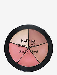 Isadora - Blush & Glow Draping Wheel Peachy Rose - rouge - peachy rose pop - 0