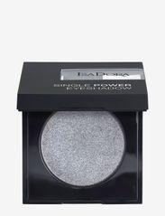 Isadora - Single Power Eyeshadow - Ögonskugga - silver chrome - 0