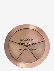 Isadora - FACE GLOW HIGHLIGTING WHEEL752 BEACH GLOW - highlighter - 752 beach glow - 0