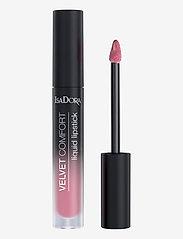 Isadora - Velvet Comfort Liquid Lipstick Pink Blossom - liquid lipstick - pink blossom - 1