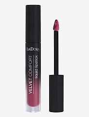 Isadora - Velvet Comfort Liquid Lipstick Berry Blush - liquid lipstick - berry blush - 1