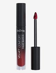 Isadora - Velvet Comfort Liquid Lipstick Cranberry Love - liquid lipstick - cranberry love - 1