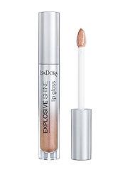 Isadora - Explosive Shine Lip Gloss - läppglans - nude sparkle - 1