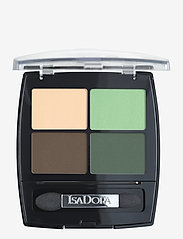 Isadora - Eye Shadow Quartet Neo Mint - Øjenskyggepalet - neo mint - 0