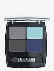 Isadora - Eye Shadow Quartet Forever Blue - Øjenskyggepalet - forever blue - 0