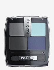 Isadora - Eye Shadow Quartet Forever Blue - Øjenskyggepalet - forever blue - 1
